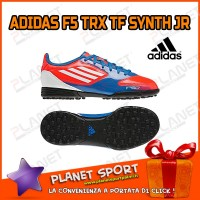 ADIDAS SCARPE CALCETTO F5 TRX TF SYNTH JUNIOR