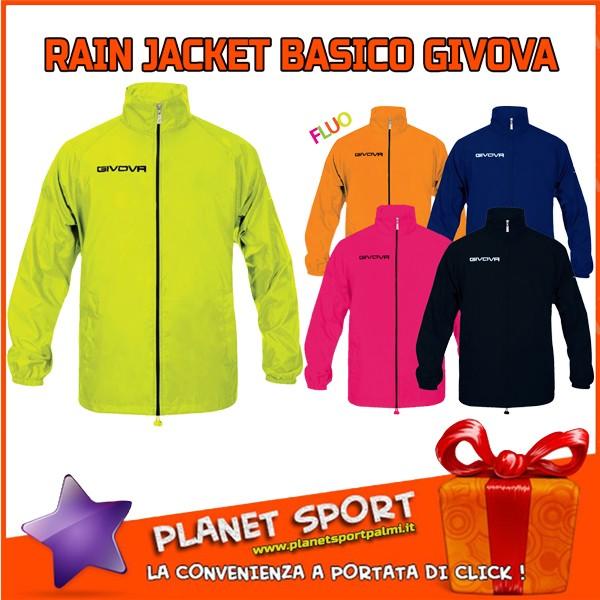 GIVOVA RAIN JACKET BASICO