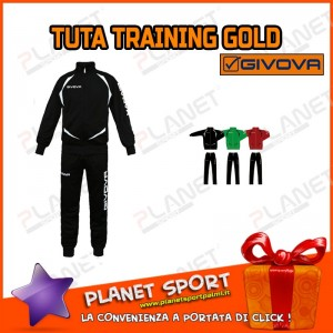 GIVOVA TUTA TRAINING GOLD